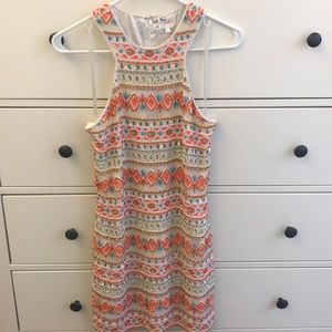 Stunning beaded Parker dress size small